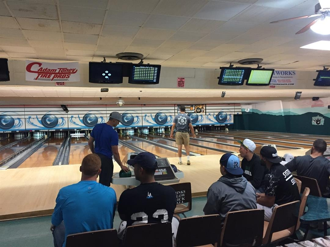 Miners Bowling at Leisure Lanes in Beckley