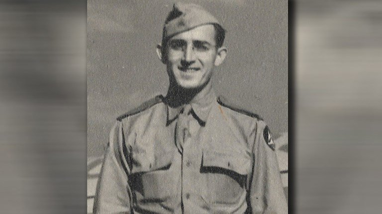 "Army Private, Eugene J. ""Gene"" Appleby (Photo courtesy Miller Funeral Home)"