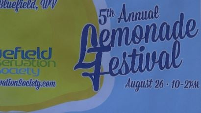5th Annual Lemonade Festival is coming to Downtown Bluefield Saturday, August 26th.