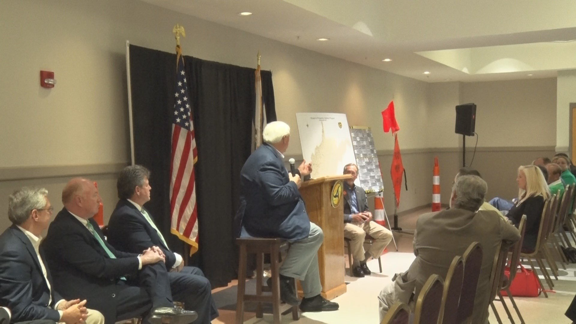Gov Justice Talks Roads And Jobs At Beckley Town Hall