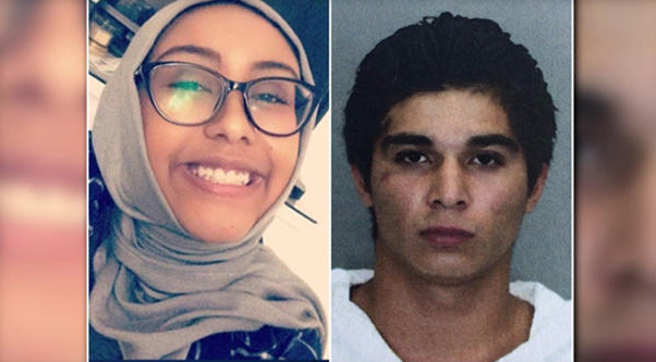 Nabra Hassanen, left, and Darwin Martinez Torres