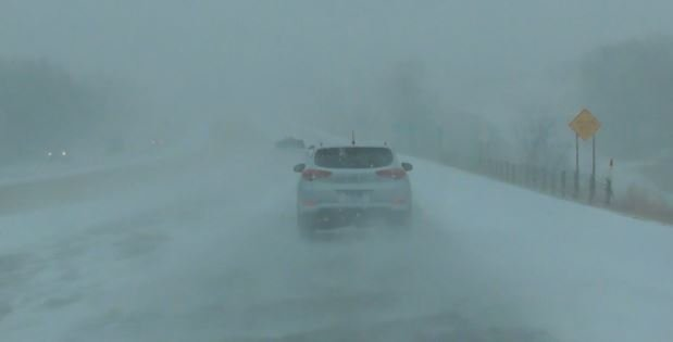 Police give tips on driving in snowy conditions