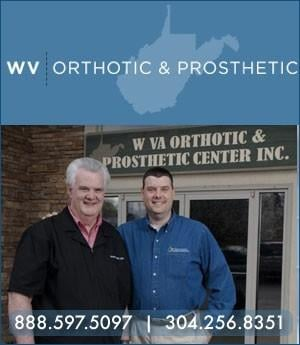 West Virginia Orthotics & Prothetics Center - Sponsorship Header
