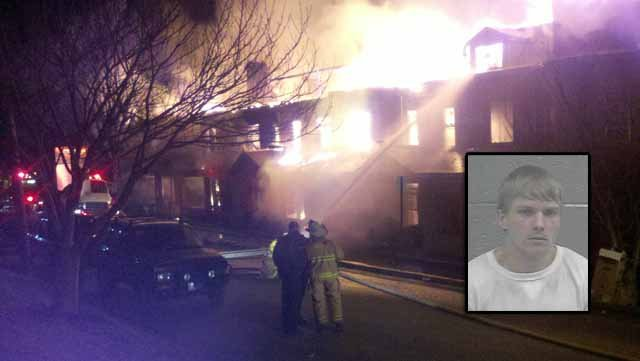 PICTURED: Billy Joe Gill - Indicted on Arson and Attempted Murder charges