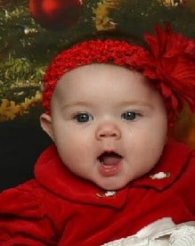 Grace Hope Tenney, 7 Months Old