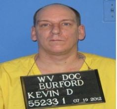 Kevin Burford is back in custody after spending a month on the run.  He was ordered back to the Beckley Correctional Center on Oct. 12 but did not return.