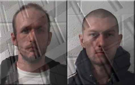 Jesse Stevenson and Erik Wickham were arrested on Thursday night in connection with a string of break-ins around Tazewell County.