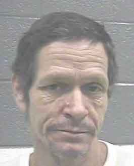 Leslie Edward McGuire was arrested on Monday, Feb. 10 for failing to register as a sex offender.