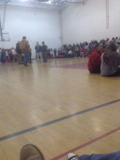 Student and staff at Liberty High School follow normal protocol after a bomb threat was made.