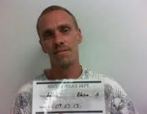 Blaine Adkins is accused of stealing thousands of dollars worth of guitars from the Hinton Gospel Tabernacle Church.