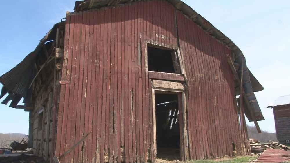 1800s Schoolhouse found inside a barn