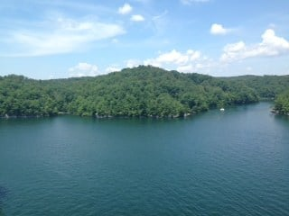 Seach crews with the WV DNR may have found the body of a man who disappeared while swimming in Summersville Lake on June 26, 2014.