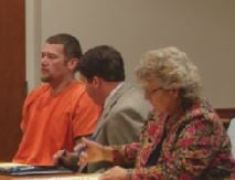 Don Dicken appears in court, charged in the murder of Glen Farrow
