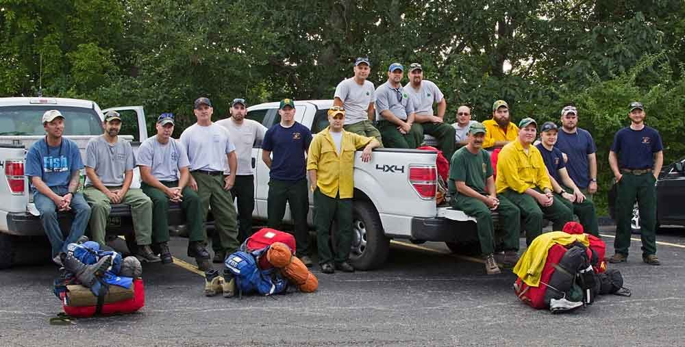 20 person crew from the WV Div. of Forestry heads to California to help fight wildfires.