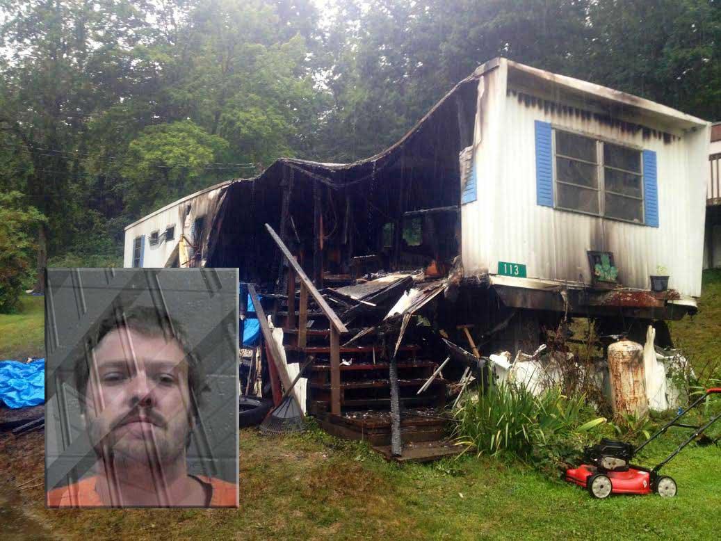 David Davis died in a trailer in Soak Creek, WV that was allegedly set on fire by Carl Cox.