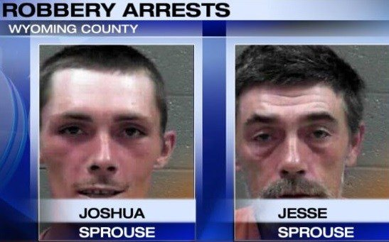Two Arrested in Wyoming County for Robbery