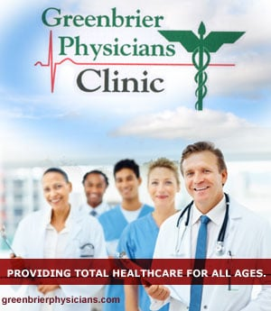 Greenbrier Valley Physician's Cinic - Sponsorship Header