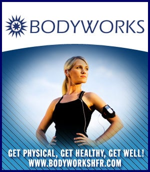 Bodyworks - sponsorship ad