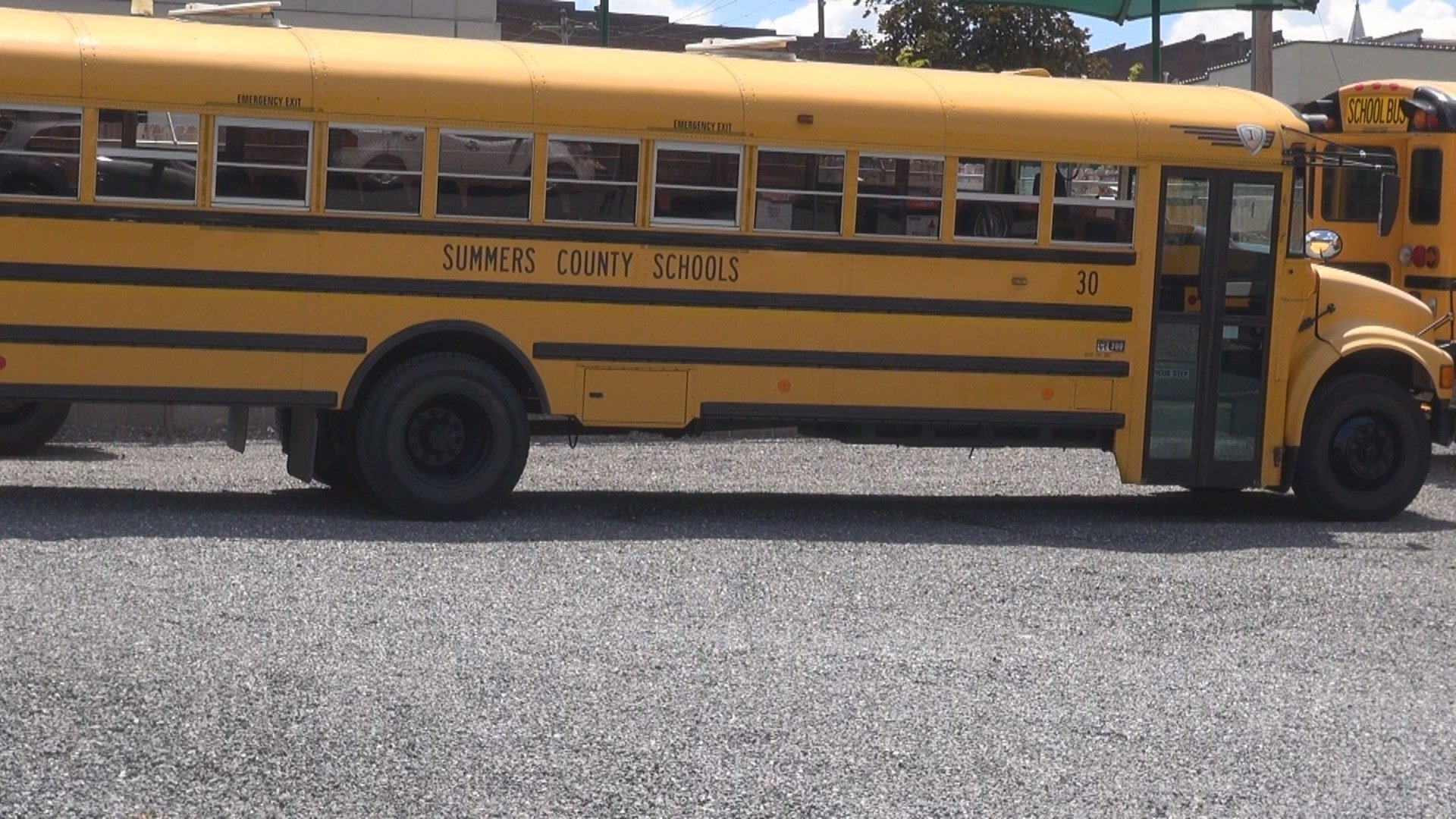 At this time the bus routes for Summers County Schools cannot change.
