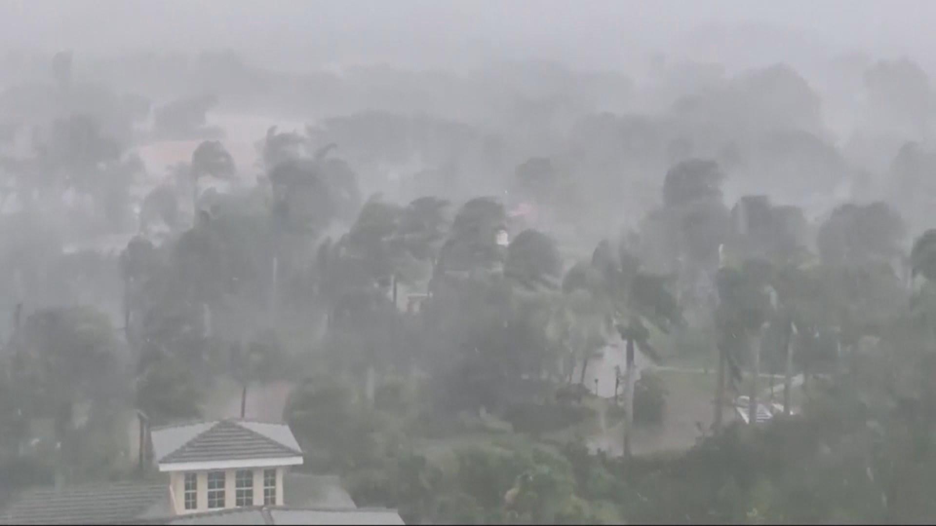 Storm surge in naples fl